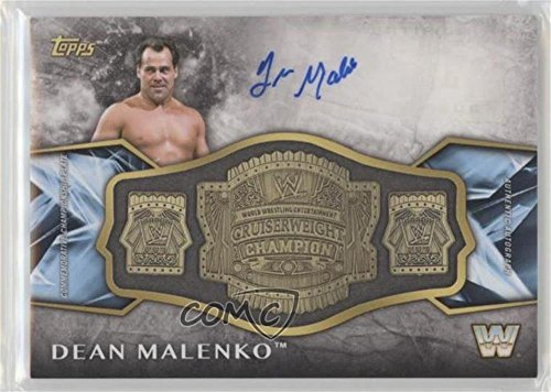 (Dean Malenko #30/99 (Trading Card) 2017 Topps Legends of the WWE - Commemorative Retired Championship Belt Autographs - Bronze #ARC-DM)
