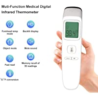 idunmed Forehead Thermometer with Object Function More Accurate Digital Infrared Medical Fever Body Basal Thermometers Suitable for Infant Kids Baby Adult