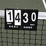 Oncourt Offcourt Quick Score Tennis Scorecard - Portable/Game & Set Scores