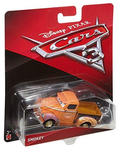Cars 3-DXV37 Coche Smokey Mattel Spain DXV37: Amazon.es: Juguetes y juegos