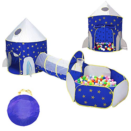 LOJETON Rocket Tunnel Basketball Toddlers product image