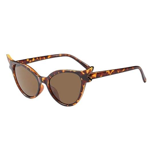 ZHRUI Gafas polarizadas Gafas de sol para hombres Mujeres Gafas de seguridad Protección UV Gafas Retro Niño pequeño Niños Chicas Señoras Oval con espejo ...