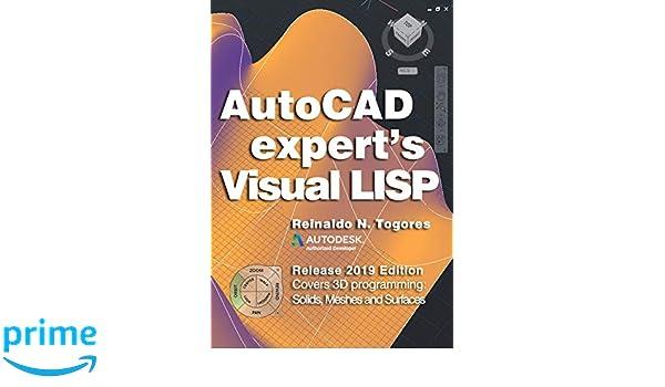 Amazon com: AutoCAD Expert's Visual LISP: Release 2019