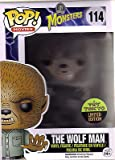FUNKO POP! MOVIES MONSTERS THE WOLF MAN 114 TOY TOKYO EXCLUSIVE VARIANT EDITION