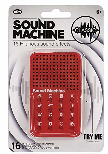 NPW-USA Sound Machine, 16 Hilarious Sound Effects - Laugh Track Button