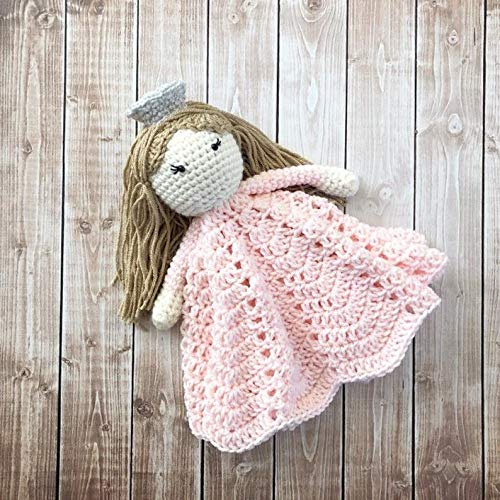 MADE TO ORDER Glenda the Good Witch Inspired Lovey// Wizard of Oz Inspired Security Blanket// Stuffed Toy// Plush Toy Doll// Soft Toy Doll