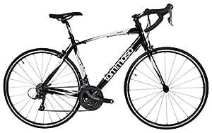 Tommaso Imola Endurance Aluminum Road Bike, Shimano Claris R2000, 24 Speeds - Black - XXS