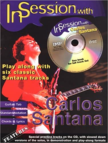 Amazon.com: In Session with Carlos Santana: Guitar TAB (Book & CD ...