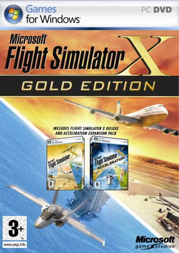 Picture of a Flight Simulator X Gold 8822247493054