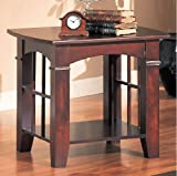 beautiful-Occasional-End-Table-In-Cherry-Finish