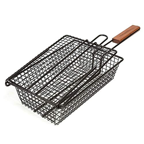 - Charcoal Companion Non-Stick Shaker Basket for Grilling