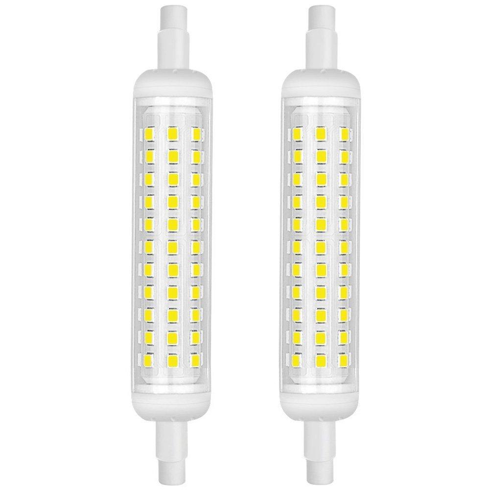 Pack Sur Détails 118mm 12w100w 2 Halogène Kindeep Ampoule Équivalent Céramique Led R7s Y67yfbg