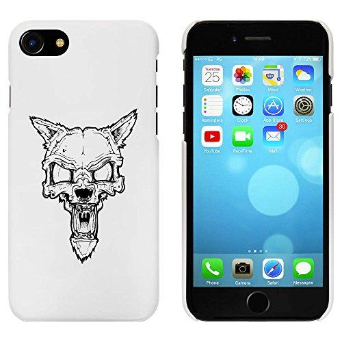 Blanc 'Loup Zombi' étui / housse pour iPhone 7 (MC00059670)
