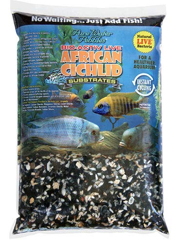 Nature's Oceans African Cichlid, Bio-Activ Live Rift Lake Substrate Live Cichlid, Live Aquarium Substrate for African Cichlids 20 LB.