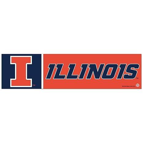 Wincraft Illinois Fighting Illini Bumper Sticker