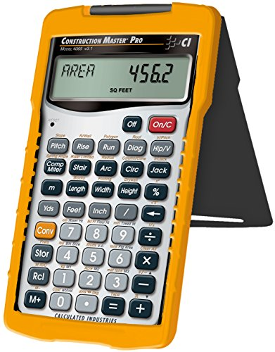 Calculated Industries 4065 Construction Master Pro Advanced Construction Math Feet-inch-Fraction Calculator for Contractors, Estimators, Builders, Framers, Remodelers, Renovators and Carpenters by Calculated Industries (Image #2)