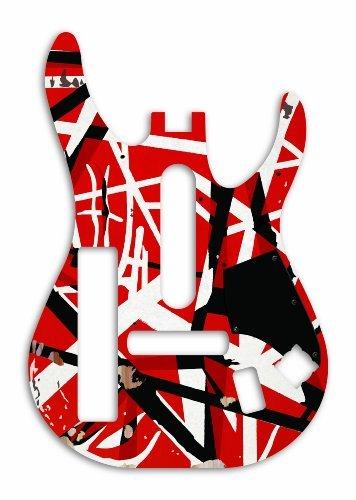 Guitar Hero: Van Halen Guitar Faceplate for Wii PlatformForDisplay: Nintendo Wii Model: 76316 (Electronics Consumer Store)