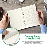 A5 Refill Paper Refillable Paper Squared Filler