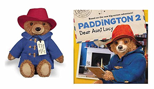 (YOTTOY Paddington Bear Movie Teddy Bear with Paddington 2 Dear Aunt Lucy)