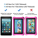 All-New Fire 7 / Fire 7 Kids Edition Screen Protector - OMOTON Tempered Glass Screen Protector with [Crystal Clear][Scratch Resistant] for All-New Fire 7 / Fire 7 Kids Edition [7 Inch](2017 Released)
