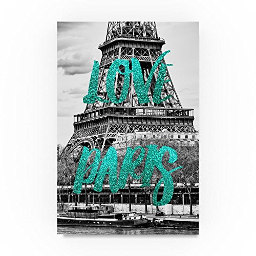 Love Paris The Eiffel Tower by Philippe Hugonnard,- Paris Decor