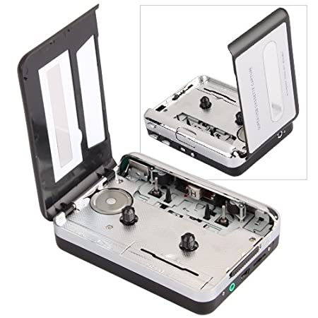 Convertidor USB Cinta Audio Cassette a MP3 CD Reproductor PC ...