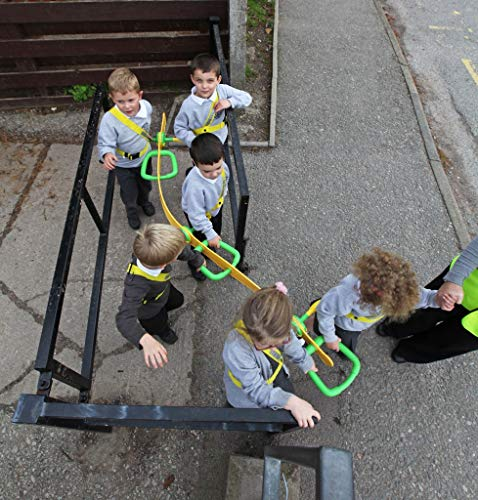 Walkodile Classic (6 Child), Childrens Walking Rope, Toddler Reins, Pre-School Safety Harness. Includes Free Learning Games for Walks Guide by Walkodile (Image #2)