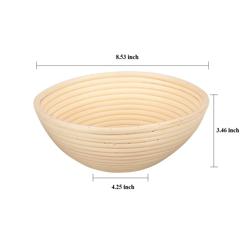 Haneye Bread Proofing Basket, 8.5\