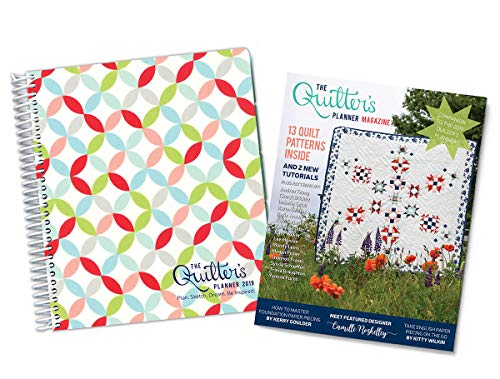 (The Quilter's Planner 2019 Monthly and Weekly Planner Journal, 8