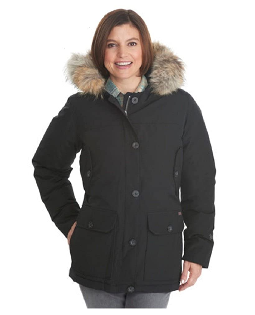 d12b706b5 Amazon.com: Woolrich Women's Arctic Down Parka 550 Fill Black: Clothing