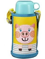 日亚:手快!TIGER虎牌 MBR-B06G 两用保温杯 小猪款 0.6L 新低价4418日元(约273元,不含运费),支持直邮