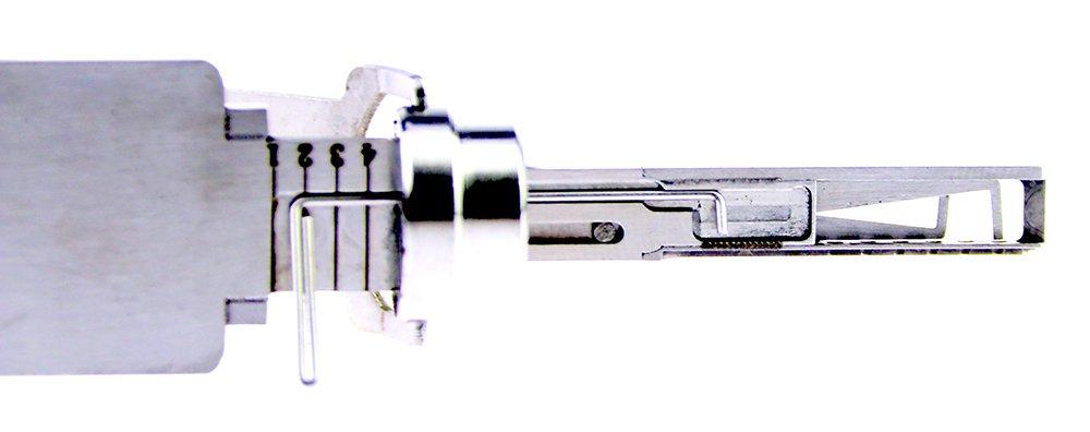 TPM Go HU162T(10) - Lector de llaves 2 en 1 para coche, decodificador de ganzúas: Amazon.es: Bricolaje y herramientas