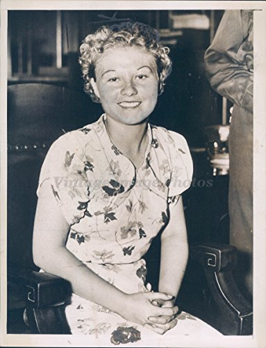 1937 Photo Kidnap Victim Verline Stargel Pretty Girl Gainesville GA Crime Rare (To Chicago Gainesville)