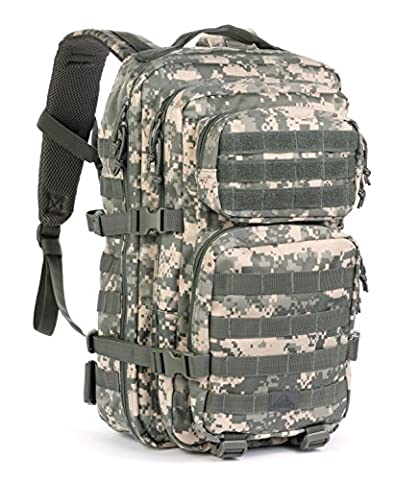 Red Rock Outdoor Gear Assault Pack (One Size, ACU Camouflage) - Outdoor Gear