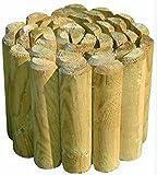 BORDURA RECINZIONE PER AIUOLE in legno di pino autoclavato CM. 180X20X5