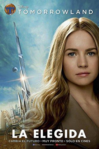 "Alexander Tomorrowland 2015 Movie Fabric Poster 20"" X 13""Decor--02"