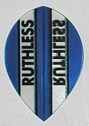 US Darts - 3 Sets (9 Flights) Xtra Strong Ruthless Blue Pear Shape Dart Flights