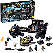 LEGO DC Mobile Bat Base 76160 Batman Building Toy, Gotham City Batcave Playset and Action Minifigures, Great '