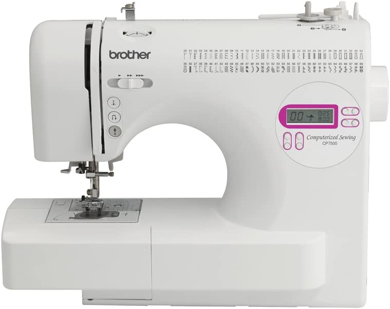 Brother CP-7500 Computerized Sewing Machine Review