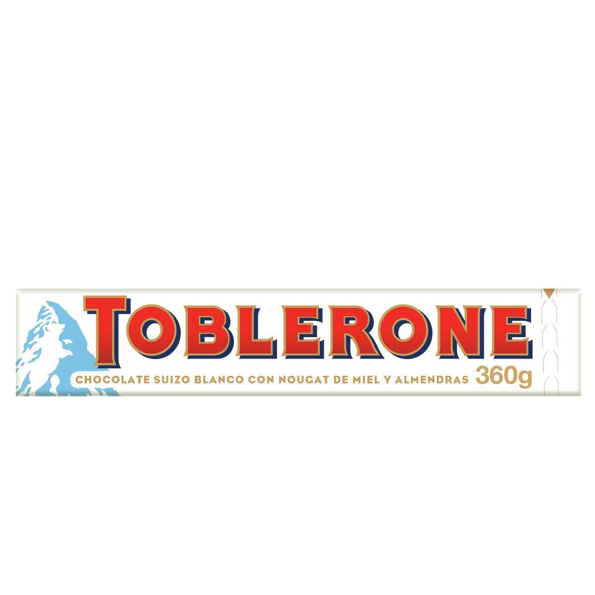 Toblerone White Large Bar Chocolate, 360 g