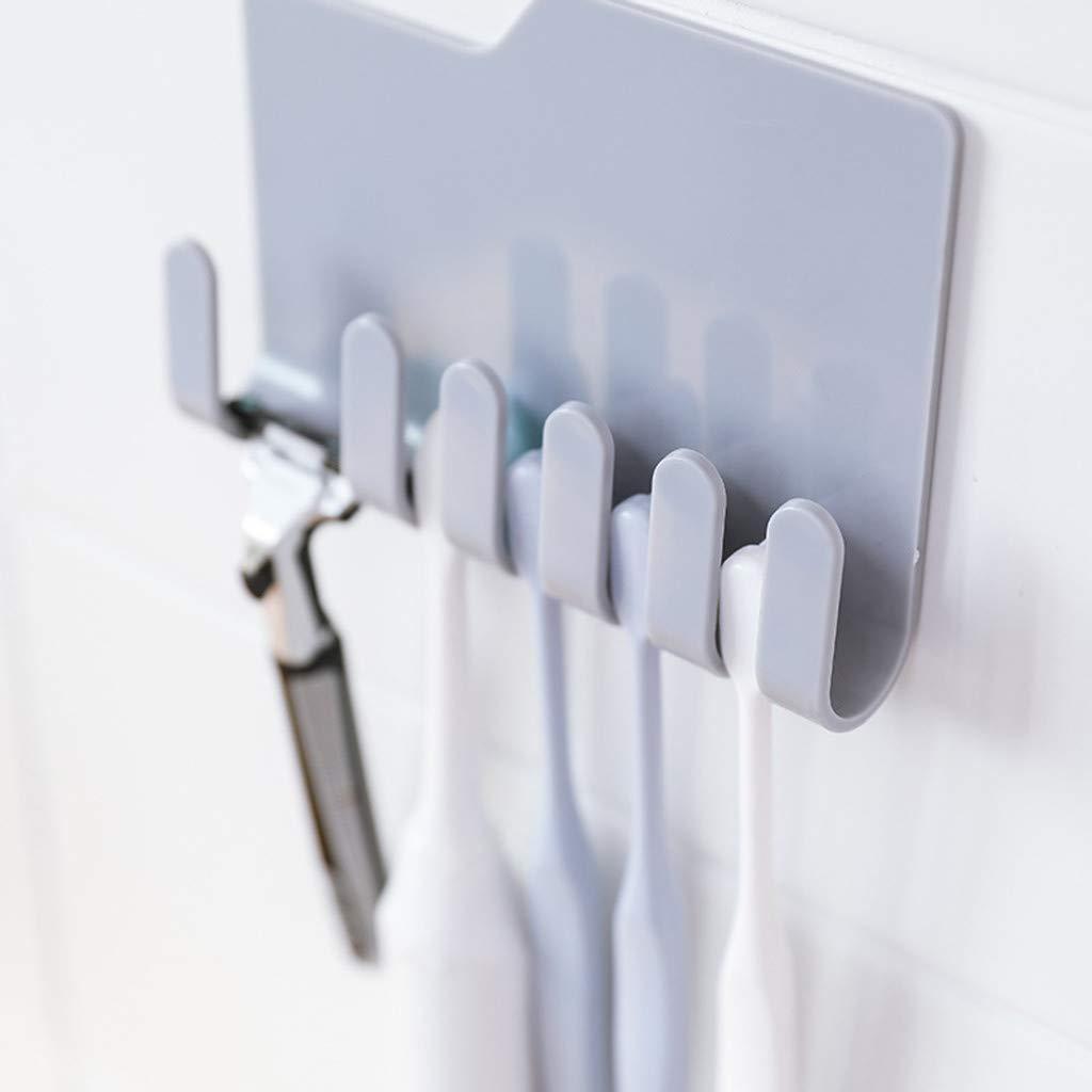 MOVEmen Practical Wall Phone Holder Socket Charging Box Bracket Stand Kitchen Holder Toothbrush Holder Kitchen Corner Storage Rack Washing Rack Drain Rack Bathroom Towel Rack (Grey) by MOVEmen (Image #3)