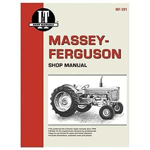 Haynes Manuals mf-201Tractor tienda Manual, Massey Ferguson Gas