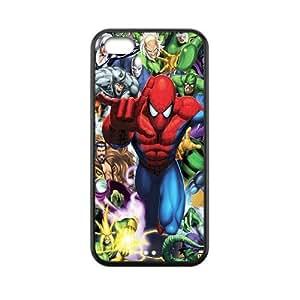 Custom Spider Man Back Cover Case for iphone 5C JN5C-157