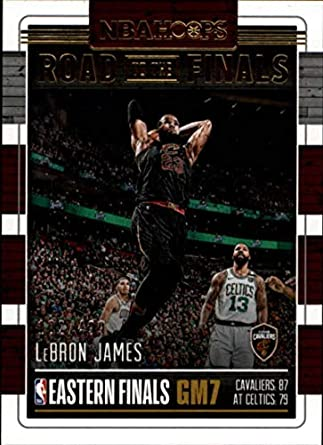 3bb3867b9de4cd 2018-19 NBA Hoops Road to the Finals Conference Finals #77 LeBron James /