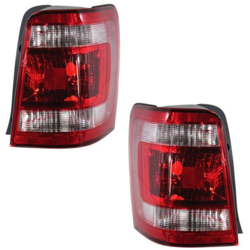 compare price ford escape tail lights pair on. Black Bedroom Furniture Sets. Home Design Ideas