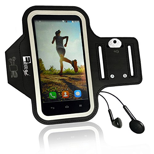 iPhone 7/8 PLUS Running Armband with Fingerprint ID Access. Sports Phone Arm Case Holder for Small 9'' - Large 20'' Arms. Designed for Runners, Gym Workouts & Extreme Exercise by Revere Sport (Image #3)