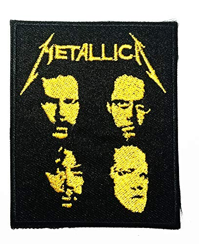 American Metal Band Rock Music Heavy Metal Logo Patch Embroidered Sew Iron On Patches Badge Bags Hat Jeans Shoes T-Shirt Applique (Best Rock Band Logos)