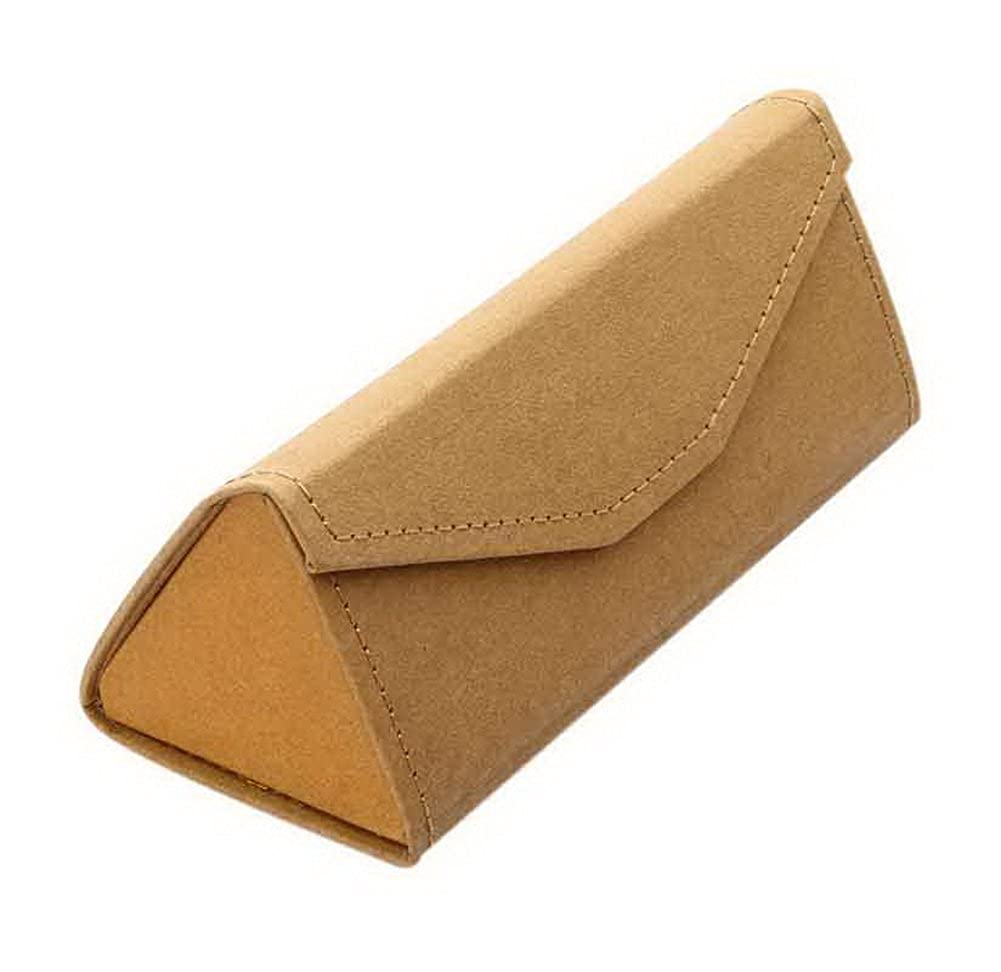 Handmade Myopic Glasses Sunglasses Box Foldable Eyeglasses Box Kraft Paper Color