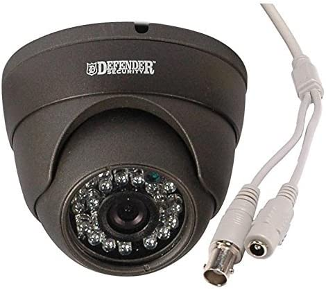 700TVL Outdoor Day Night Dome Camera – Gray