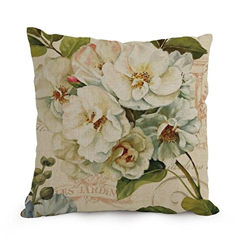 Bestseason 12 X 20 Inches / 30 By 50 Cm Flower Art Throw Pillow Covers,double Sides Is Fit For Adults,coffee House,living Room,pub,chair,shop